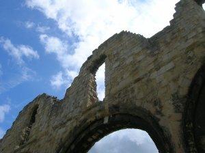 Ruins near Canterbury Cathedral